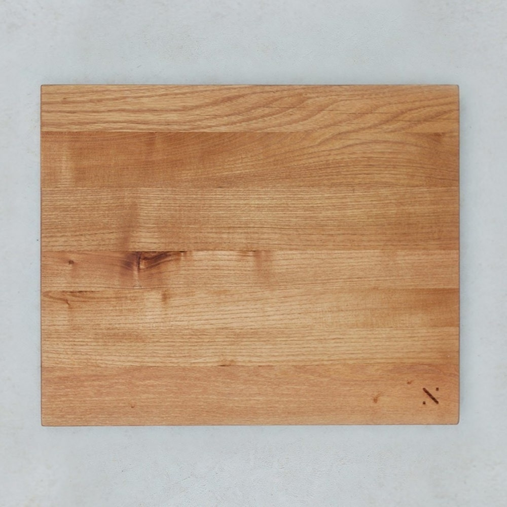 rectangle cutting board made from reclaimed wood