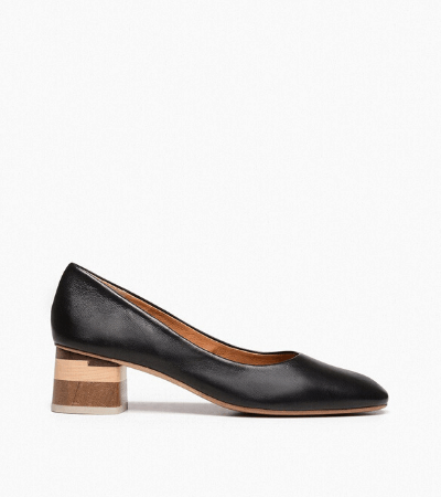 Ethical black heels