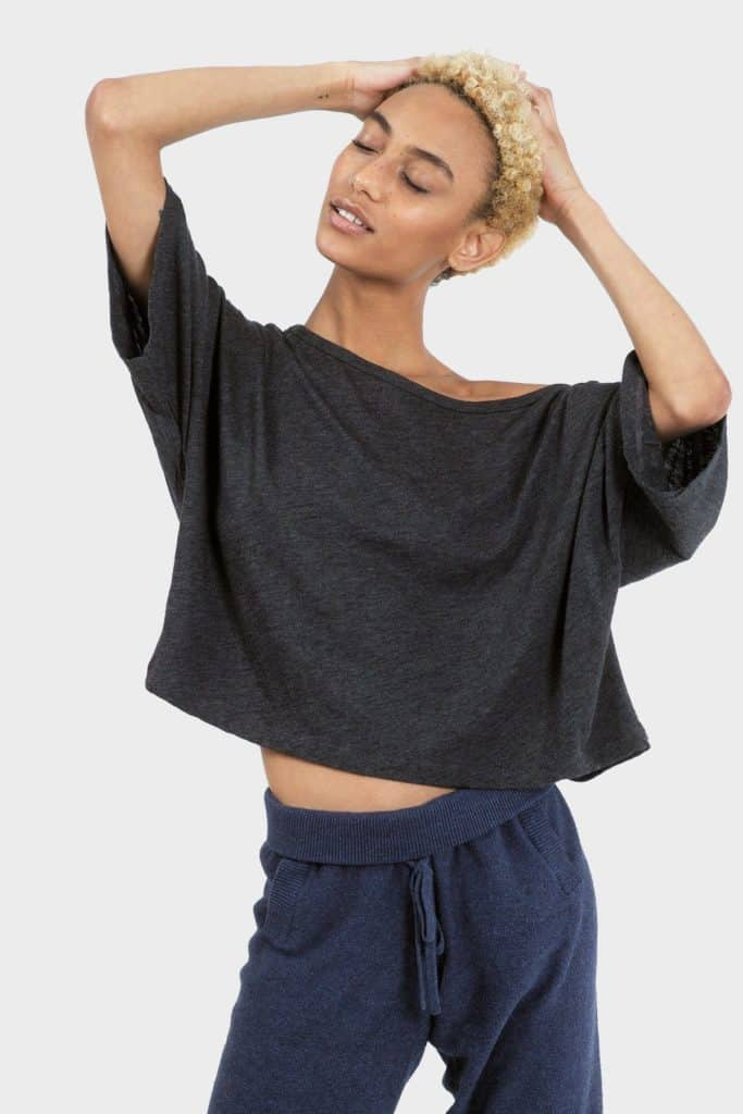 337 Brand Lumi Crop Top - Sustainable Athleisure