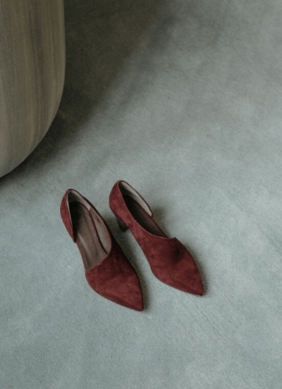 Ethical red heels