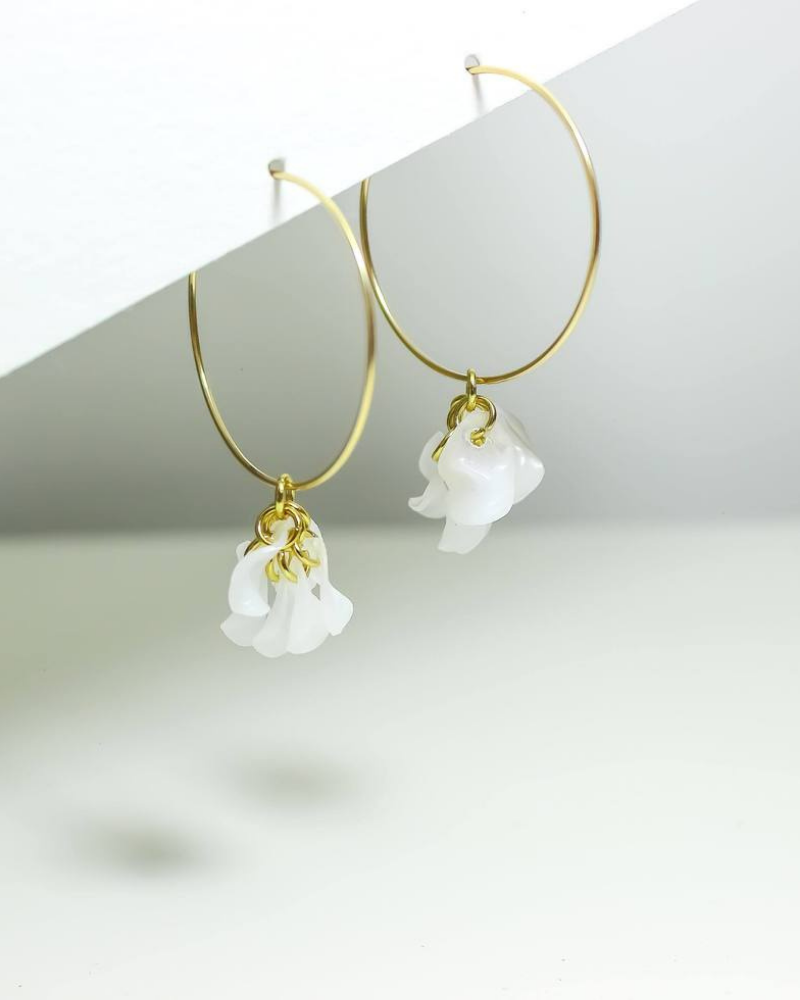 Upcycled jewelry made from discarded plastic bottles is sustainable and stylish