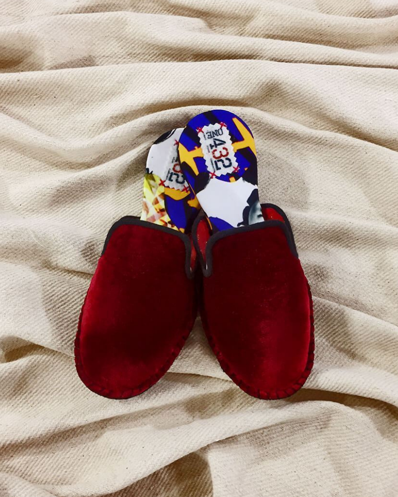 Fair trade slippers from ONE432