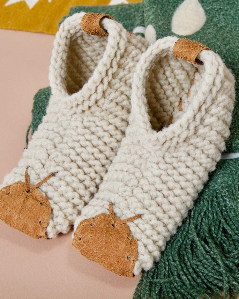 Fair trade cozy gifts - ethically-made slippers from Chilote