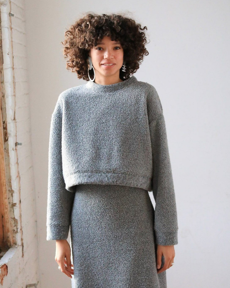Eco-friendly cozy wool sweater gift