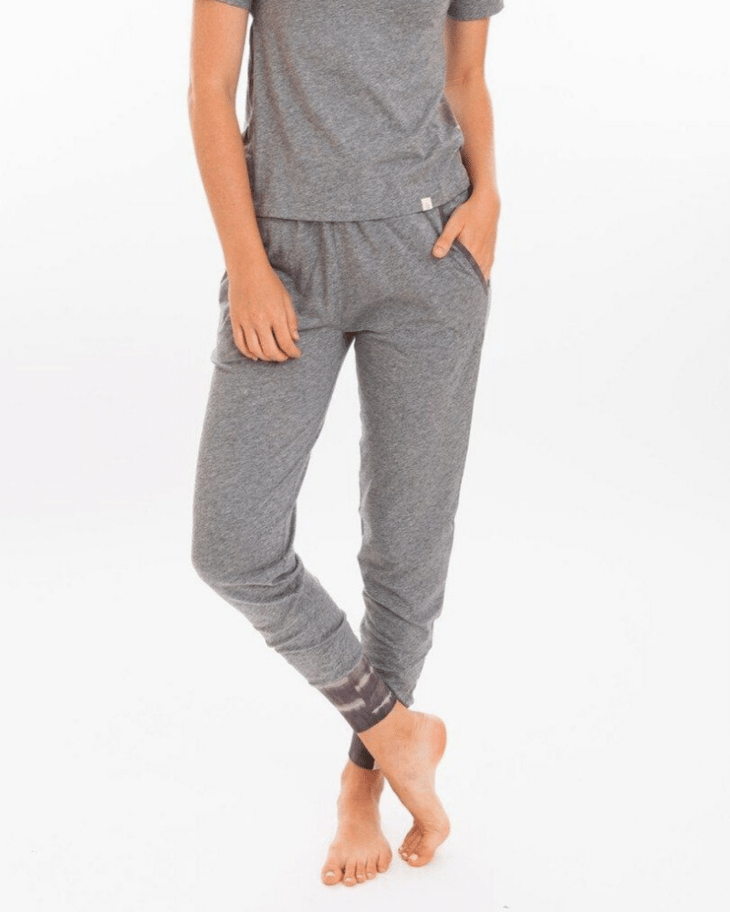 Organic sustainable joggers from Leena & Lu