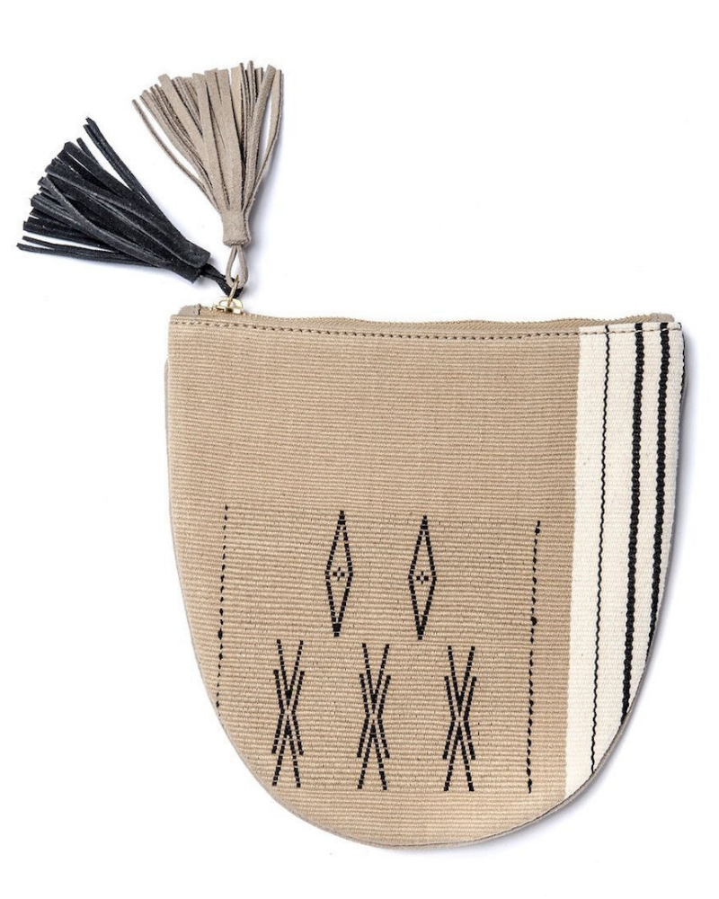Fair trade pouch from Bloom & Give