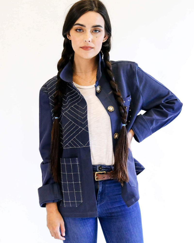 Organic Cotton Jacket from Anchal Project