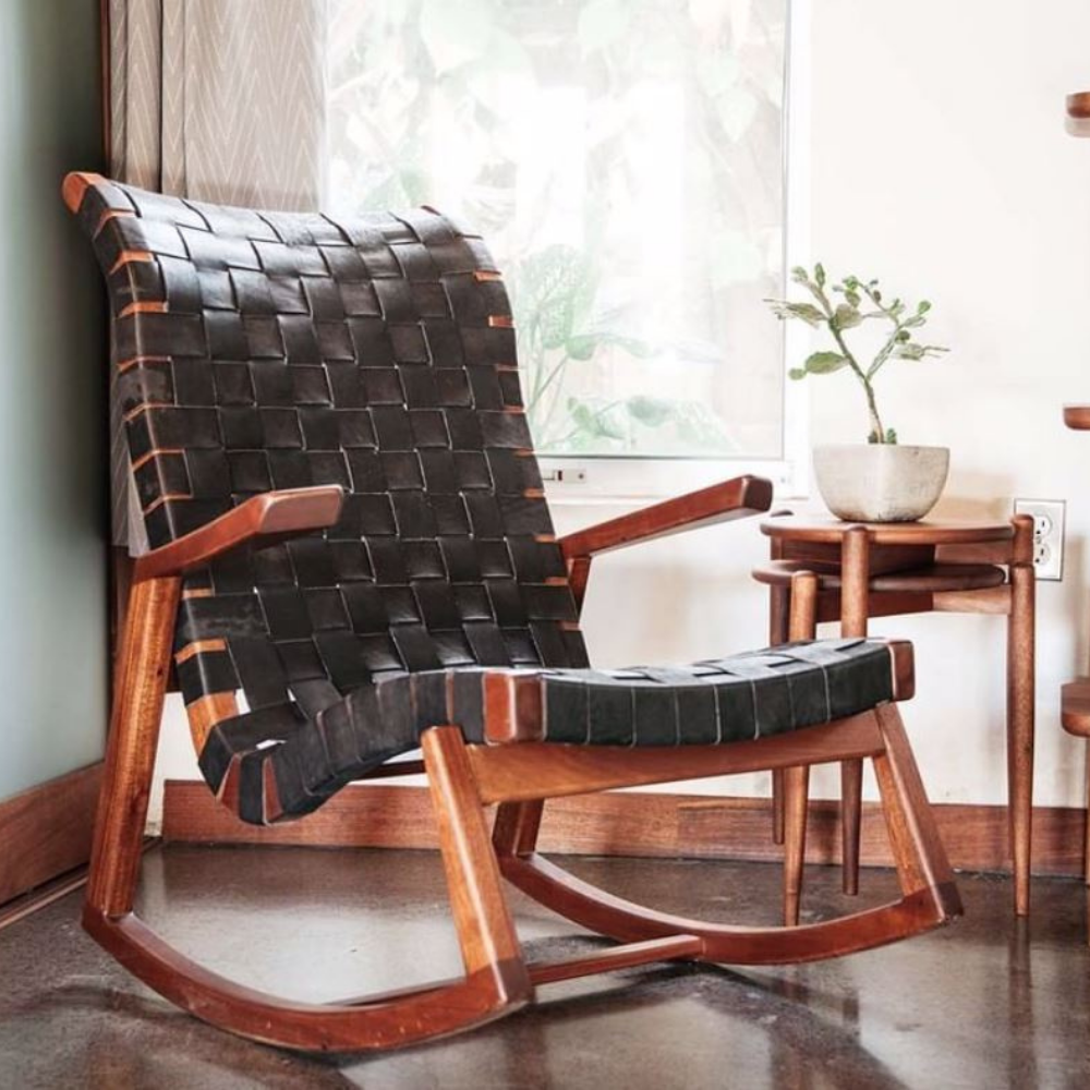 Sustainable lounge chair from Masaya & Co