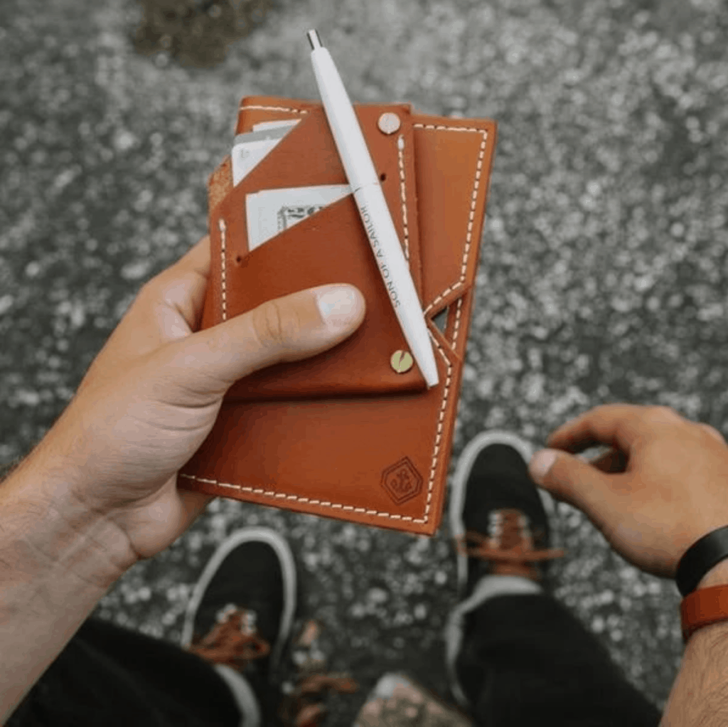 Son of a Sailor Veg Tan Wallet