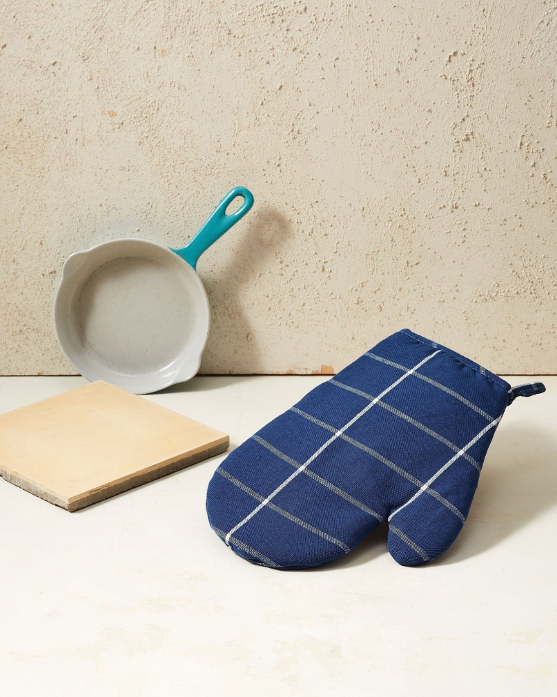 Fair trade oven mitt from Minna