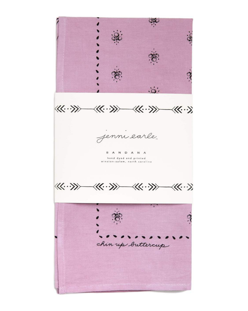 Jenni Earle bandana - eco-friendly stocking stuffer
