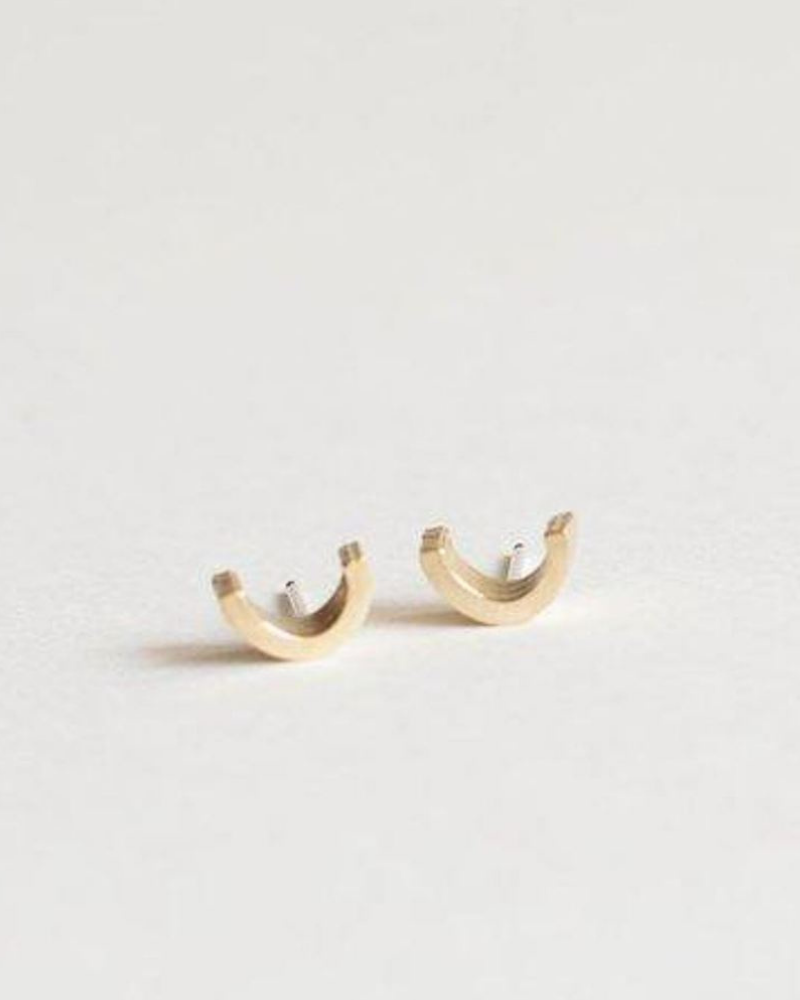 Lumafina Cast Stud Earrings - ethical stocking stuffer gifts