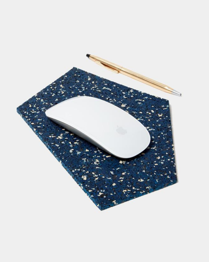 Recycled rubber mousepad - Eco-friendly stocking stuffers