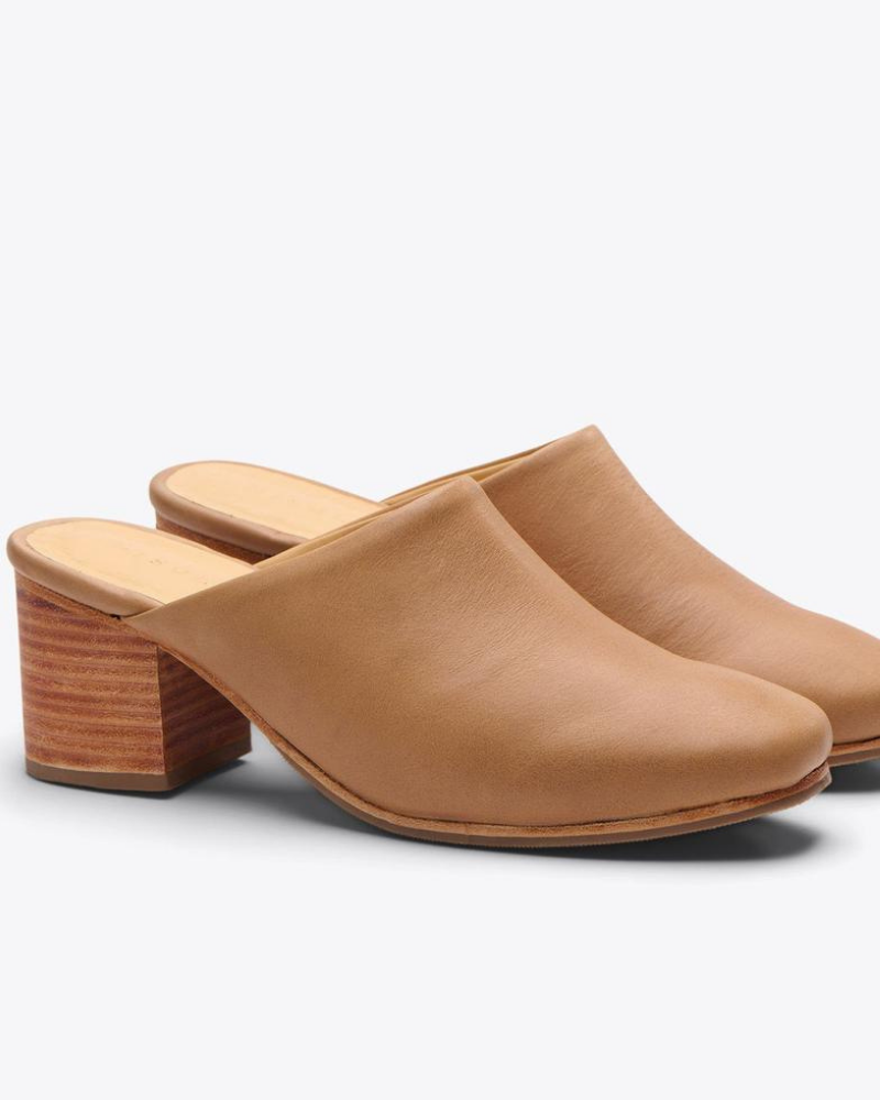 all-day heeled mule