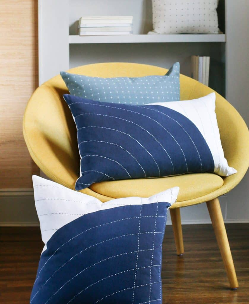 Anchal Project Navy Curve Lumbar Pillow Anchal Project 957153 1500x