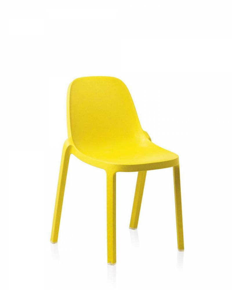 Broom Recycled Stacking Chair