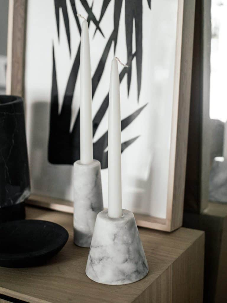 Cdmx Casa Mineral Asymmetrical Candle Holders In Grey Marble Cdmx Casa Mineral 986993 1500x