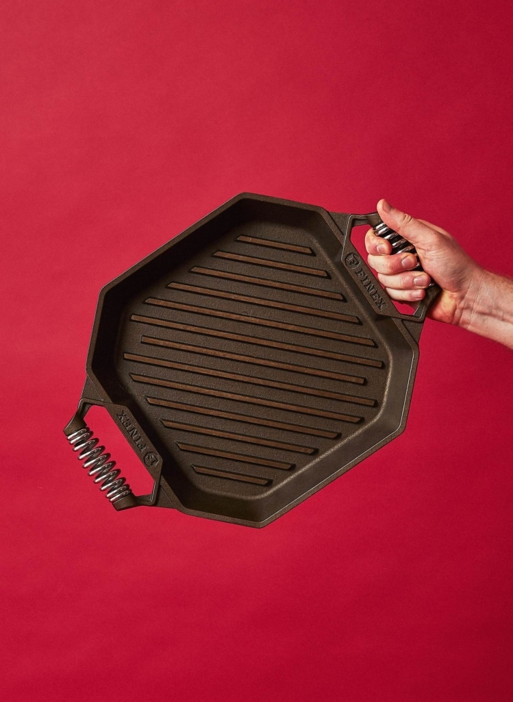 Finex Cast Iron 12 Grill Pan