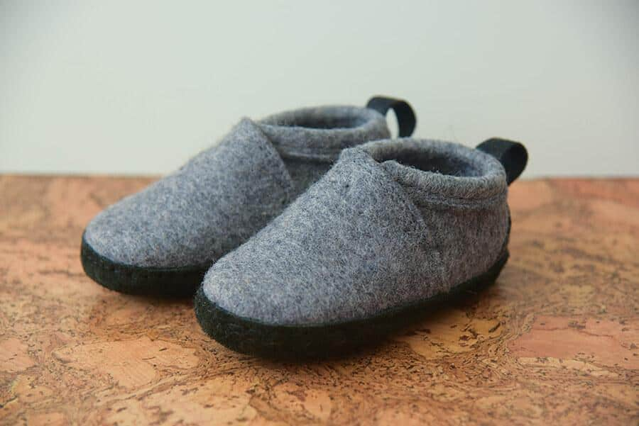 Kyrgies Babies And Toddlers Tengries Gray Moccasins