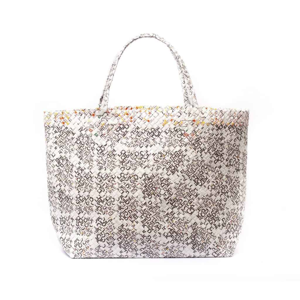 Mother Erth Limited Edition White Woven Maxi Tote Bags Mother Erth 208338 1500x