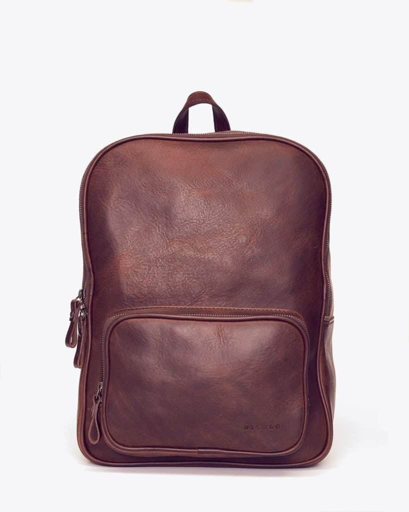 Nisolo Cordoba Backpack Chestnut