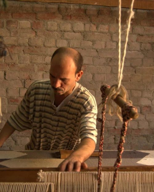 Reviving Traditional Kilim Weaving In Fowwa Egypt