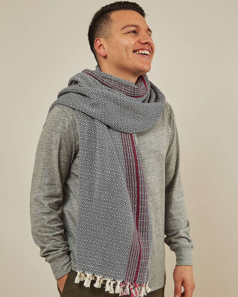 Turkish blanket and scarf